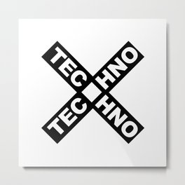 Techno Metal Print