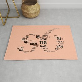 All languages ​​of the world Rug