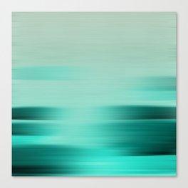 """Abstract Ocean Porstroke (Pattern)"" Canvas Print"
