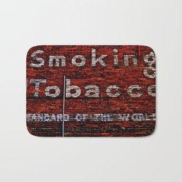 Tobacco and Bricks Bath Mat