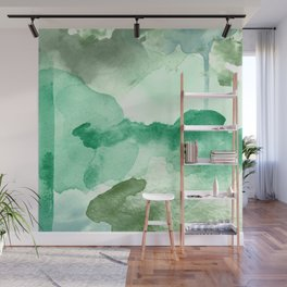 Meadow Pool Abstract Wall Mural