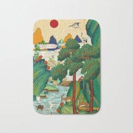 Minhwa: Ten Longevity Symbols A Type Bath Mat