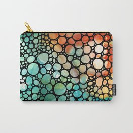 The Right Place - Stone Rock'd Art By Sharon Cummings Carry-All Pouch