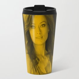 Oliva Wilde - Celebrity Travel Mug