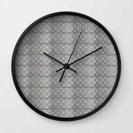 Portuguese tiles IV Wall Clock