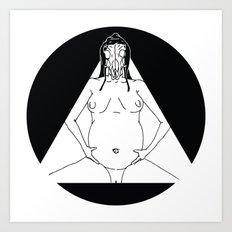 Blind Dreamer Art Print