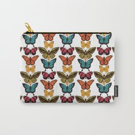 Butterfly Spectrum: pattern Carry-All Pouch