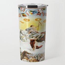 Vintage poster - Mobile Mardi Gras Travel Mug
