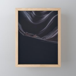 Waiting Framed Mini Art Print