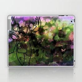 Buck & Butterflies mingle Laptop & iPad Skin
