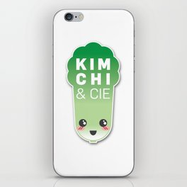 Kimchi & Cie - Official logo iPhone Skin