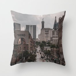 Atlanta, Georgia Throw Pillow