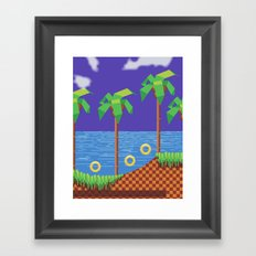 Retro Video game Framed Art Print