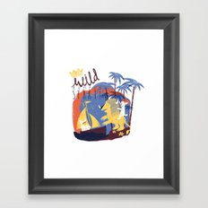 WILD RUMPUS Framed Art Print