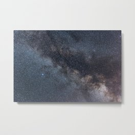 Detailed view of the Milky Way Metal Print