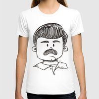 ron swanson T-shirts featuring Ron Swanson by art by arielle