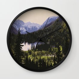 Waterton Lakes National Park Wall Clock