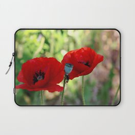 poppies in the summer Laptop Sleeve