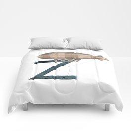 Z is for Zeppelin - Letter Z Monogram Comforters