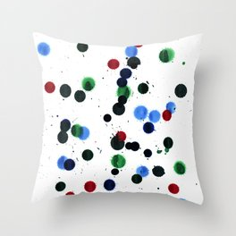 Ink Blots Throw Pillow