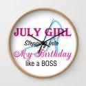 July Girl Birthday by leaflittleleaf