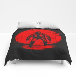 Logan Red Sunset Comforters