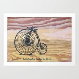 Put A Bike On It Art Print