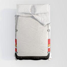 Van Rear Copy Space Comforters