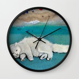 cat spirit Wall Clock