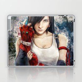 Final Fantasy VII Tifa Lockhart Painting based on Lady Zero's Cosplay Laptop & iPad Skin