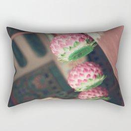 Lotus Lanterns Rectangular Pillow