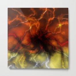Lightning ride Metal Print