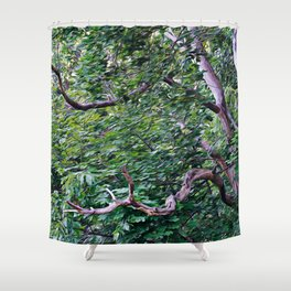 An Old Branch Shower Curtain