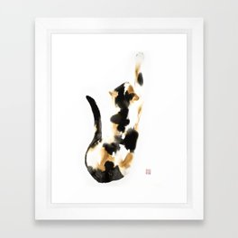 Calico Framed Art Print