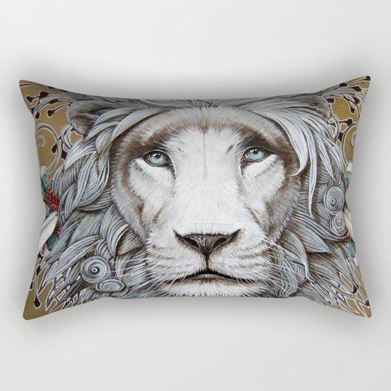 guerrier pacifique Rectangular Pillow