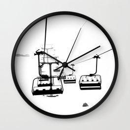 Winter Fog Wall Clock