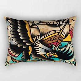 Sea Sick Rectangular Pillow