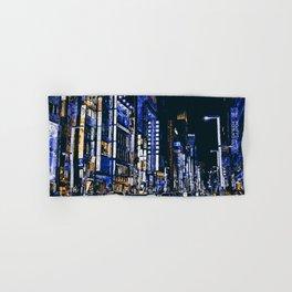 Tokyo Nights Hand & Bath Towel