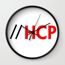 iPhone HCP Wall Clock