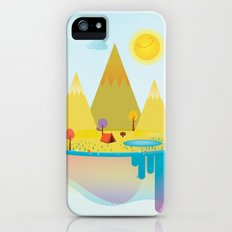 Camping Outdoors iPhone (5, 5s) Slim Case