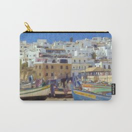 Albufeira fishing boats, Portugal Carry-All Pouch