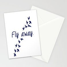 Fly Away. Stationery Cards