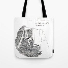 Childhood's garden Tote Bag