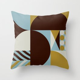 Abstract Composition 528 Throw Pillow