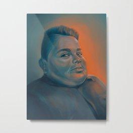 Blue Boy Metal Print