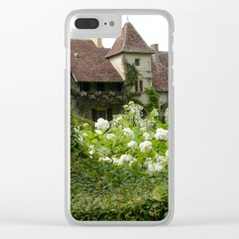 Countryside Cottage Clear iPhone Case