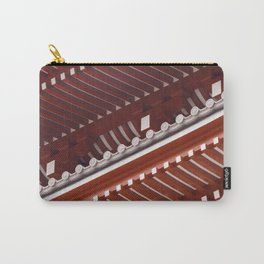 Pagoda roof pattern Carry-All Pouch