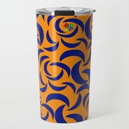 Many Moons - Orange Travel Mug