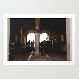Travelers Art Print