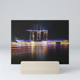 Singapore Cityscape Mini Art Print
